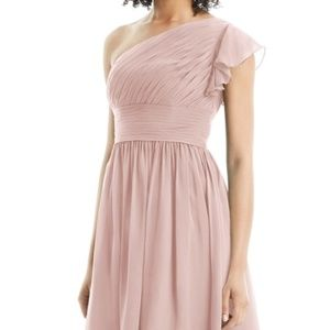 Azazie Carly Bridesmaid Dress in Dusty Rose